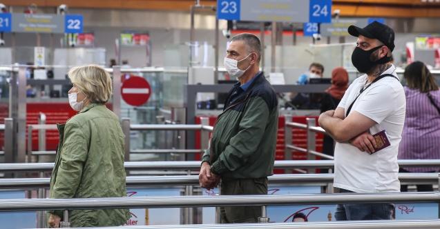 İstanbul Havalimanı'nda 30 bin yolcuya koronavirüs testi yapıldı