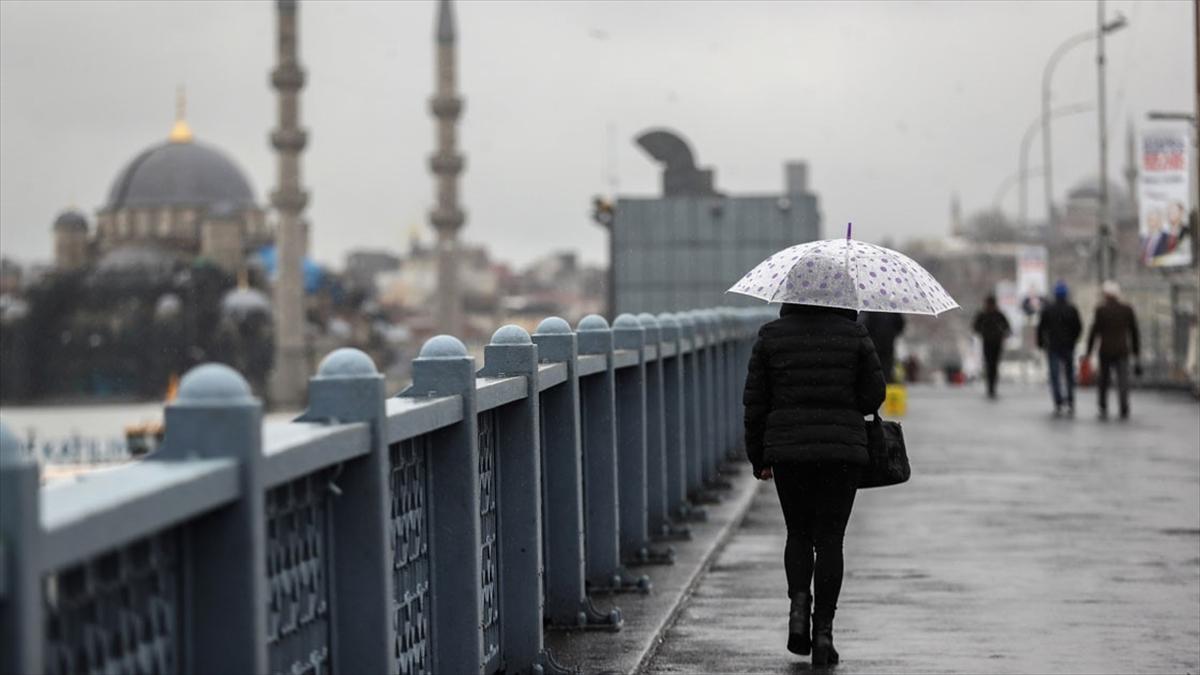 İstanbul için sağanak uyarısı geldi