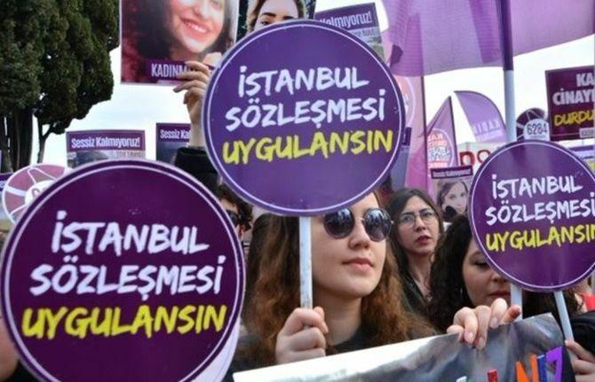 İstanbul Sözleşmesi 1 Temmuz 2021'de sona erecek
