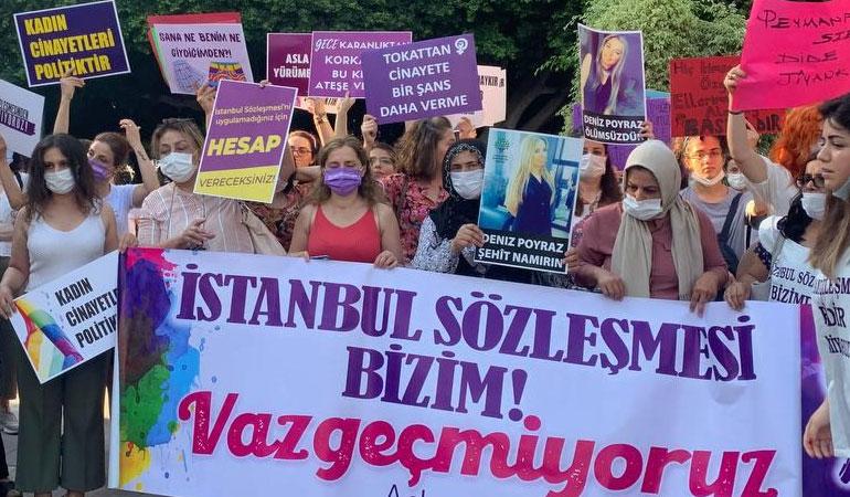 İstanbul Sözleşmesi kararında ret oyu veren Danıştay hakimi için reddi hakim talebi