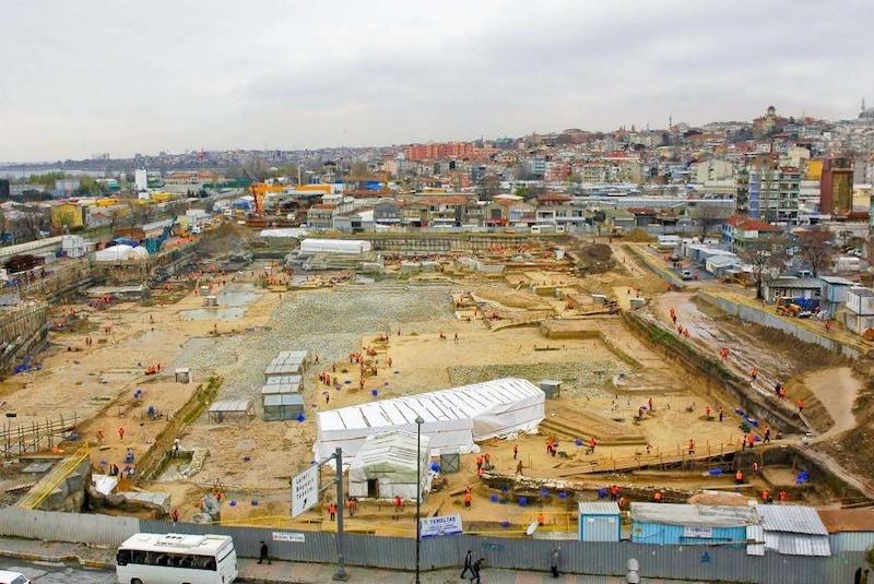 İstanbul'un eski limanı Theodosius, Arkeopark Oluyor