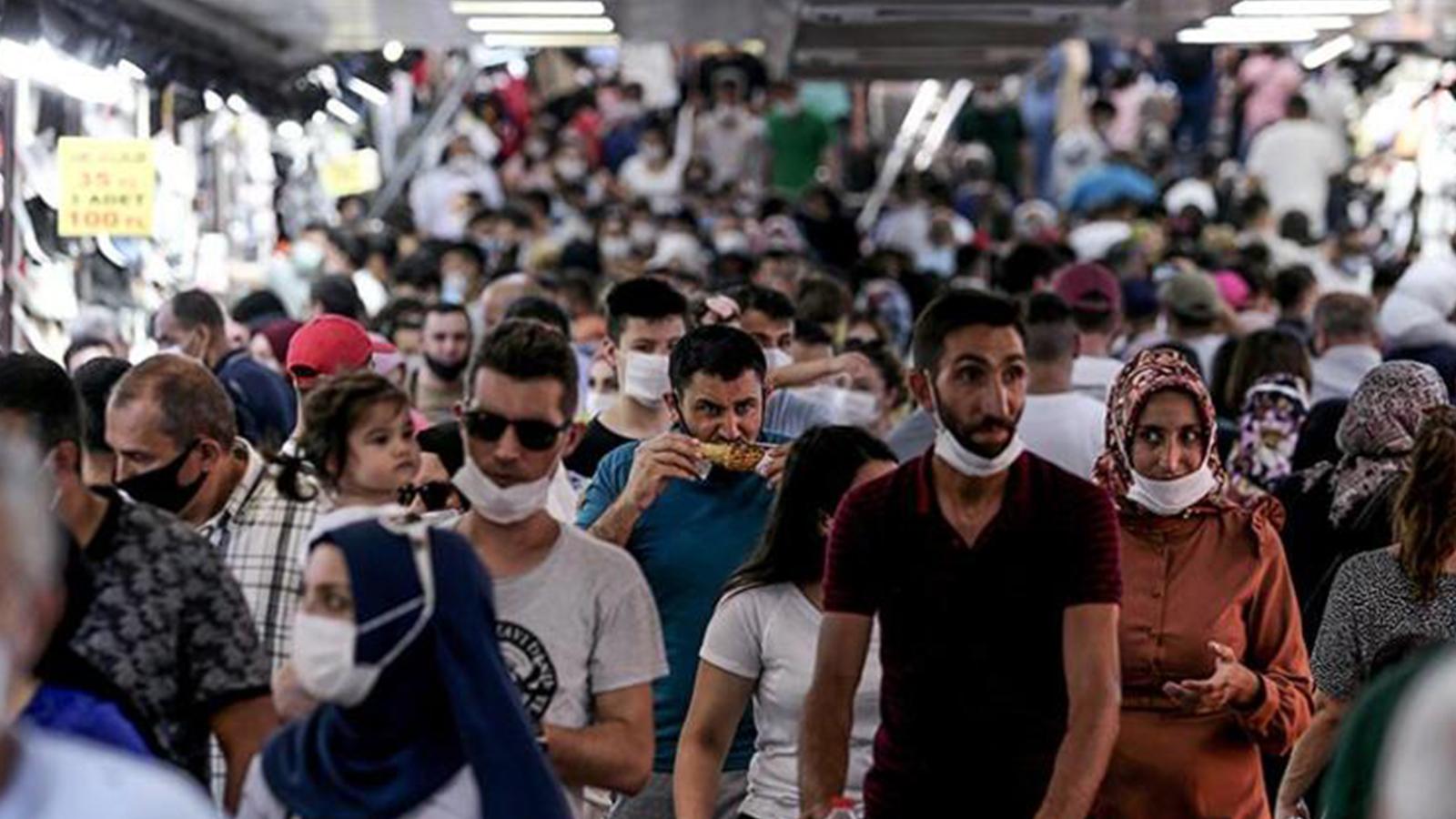 İstanbul'un koronavirüs yayılımında riskli 8 ilçe açıklandı
