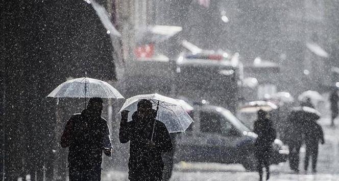 İstanbul ve Ankara'ya sağanak uyarısı