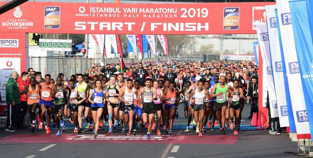 İstanbul Yarı Maratonu nedeniyle trafiğe kapatılacak yollar açıklandı