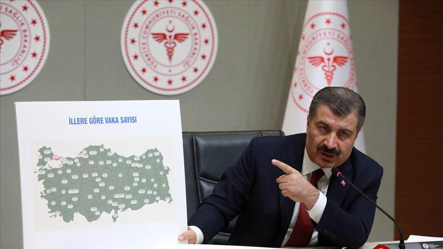 İşte Türkiye'de mutasyonlu koronavirüsün görüldüğü iller