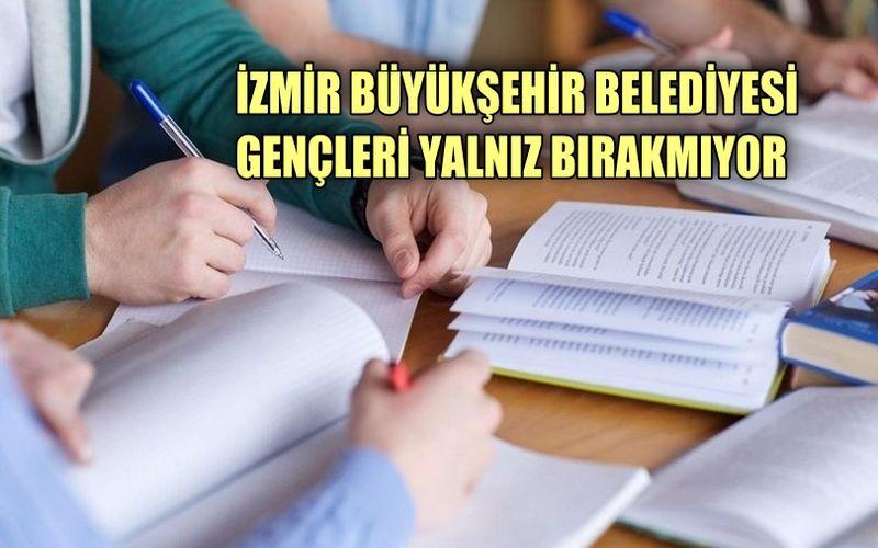 İzmir Büyükşehir Belediyesi üniversite tercihlerinde gençleri yalnız bırakmıyor