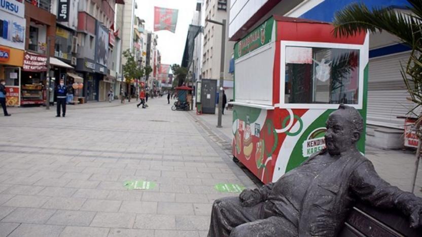 İzmir'de bazı caddelere giriş kısıtlandı