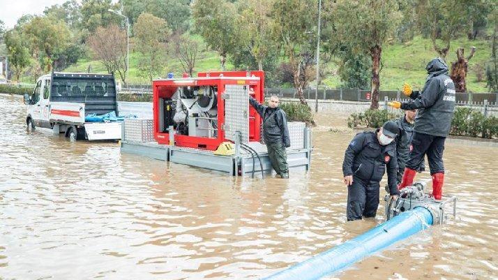 İzmir'de iki mahalle tahliye edilecek
