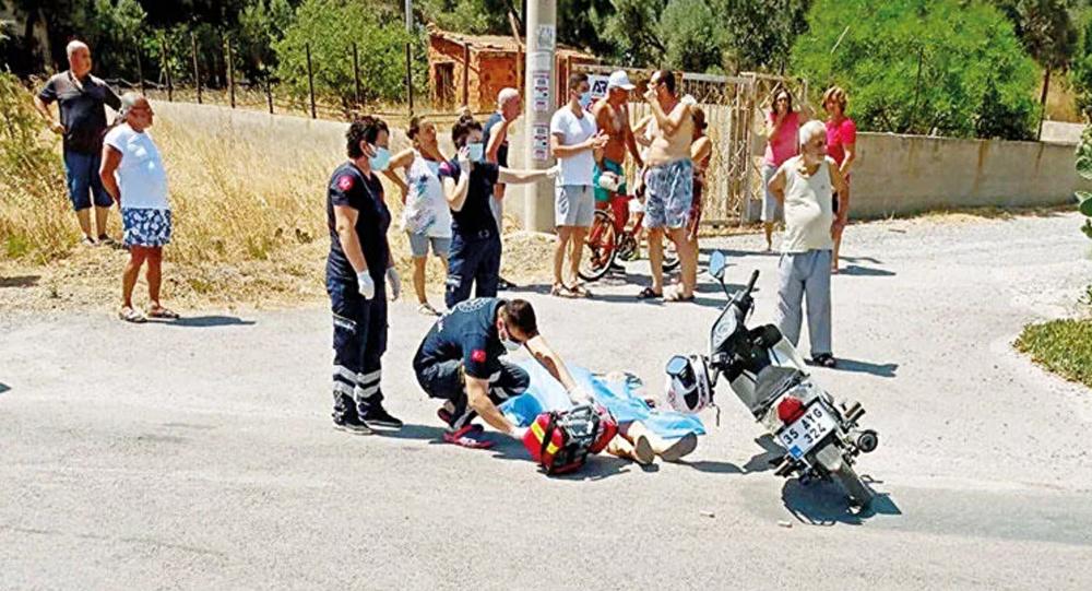 İzmir'de kadın cinayeti: Motosiklet kullanırken öldürüldü
