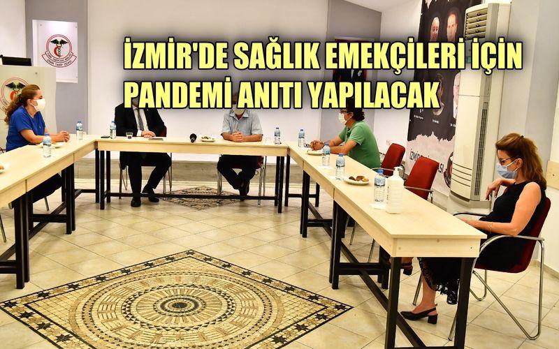 İzmir'de sağlık emekçileri için pandemi anıtı yapılacak