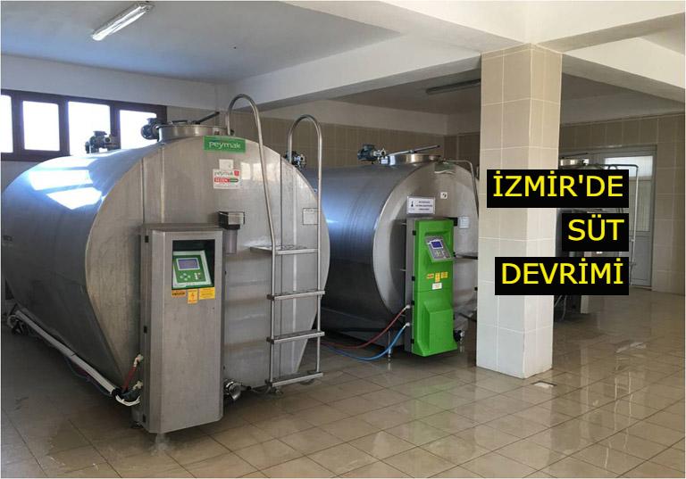 İzmir'de Süt Devrimi