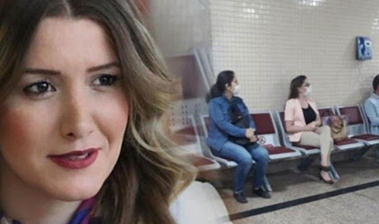 İzmir'deki 'Çav Bella' olayında hedef gösterilen Banu Özdemir hakim karşısına çıktı