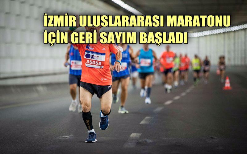 İzmir'in ilk uluslararası maratonu için geri sayım başladı