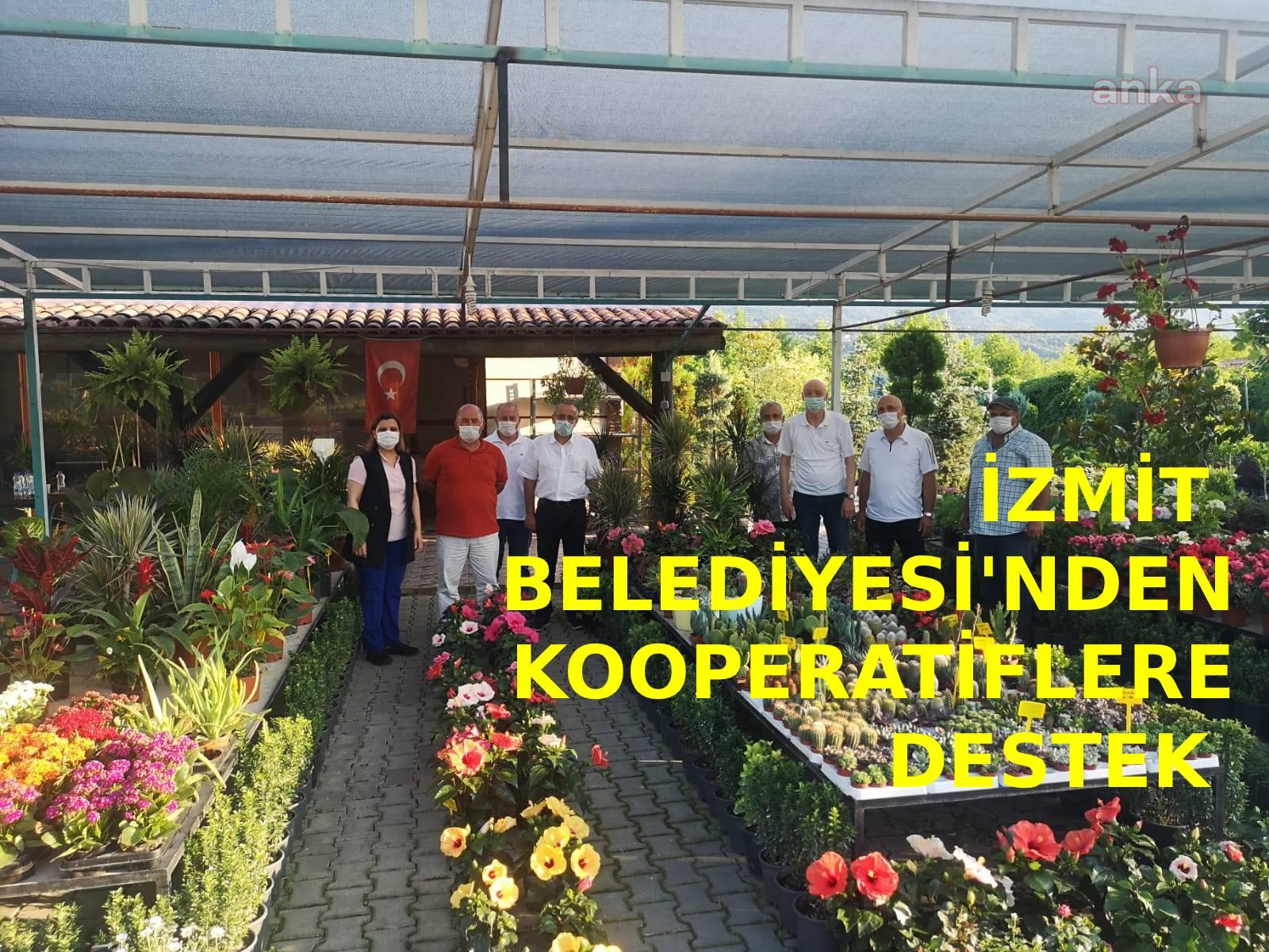 İzmit Belediyesi'nden kooperatiflere destek