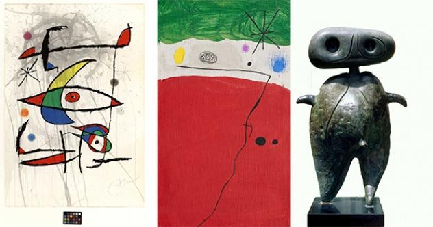 Joan Miró sergisi online erişime açıldı