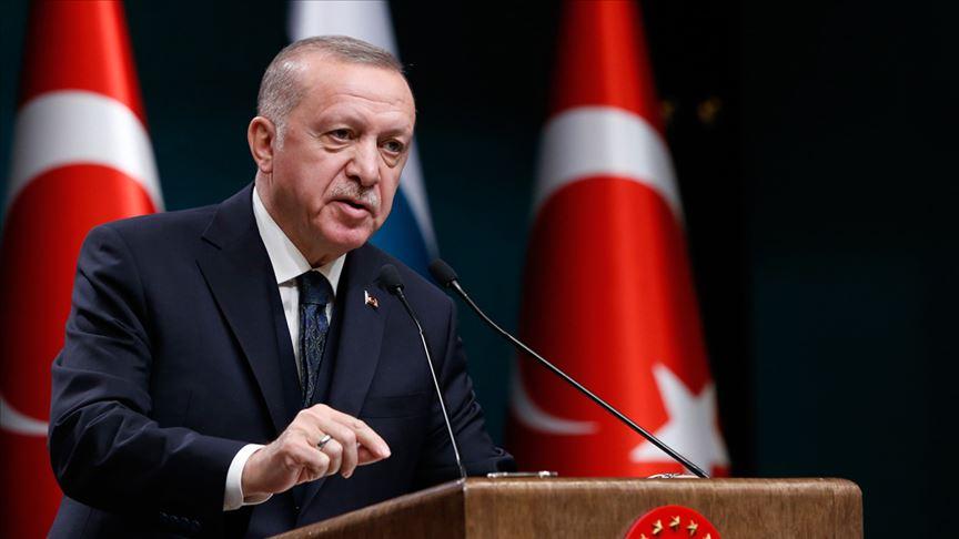Erdoğan: 2. 3. 4. 8. ve 12. sınıflarda yüz yüze eğitimi başlatıyoruz