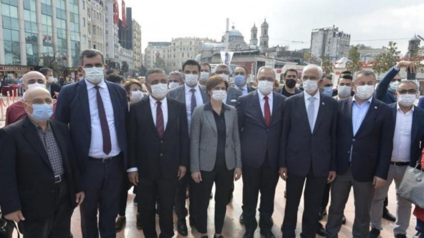 Kaftancıoğlu, Erdoğan'ın mesajı okununca töreni terk etti