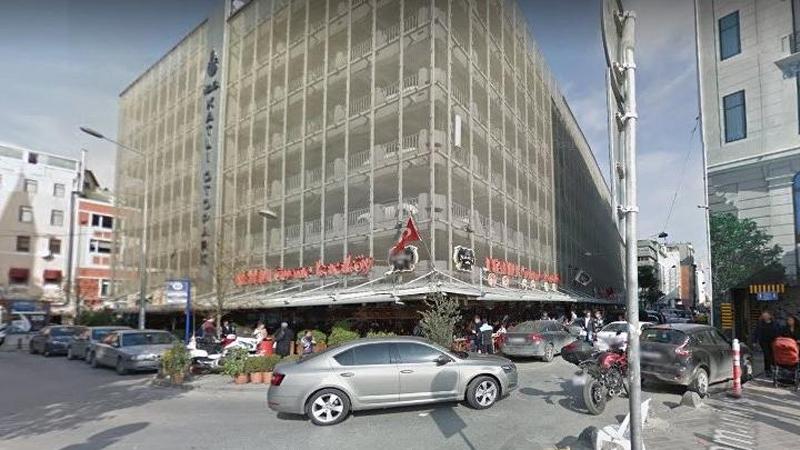 Karaköy'deki katlı otopark yıkılacak, yerine meydan yapılacak