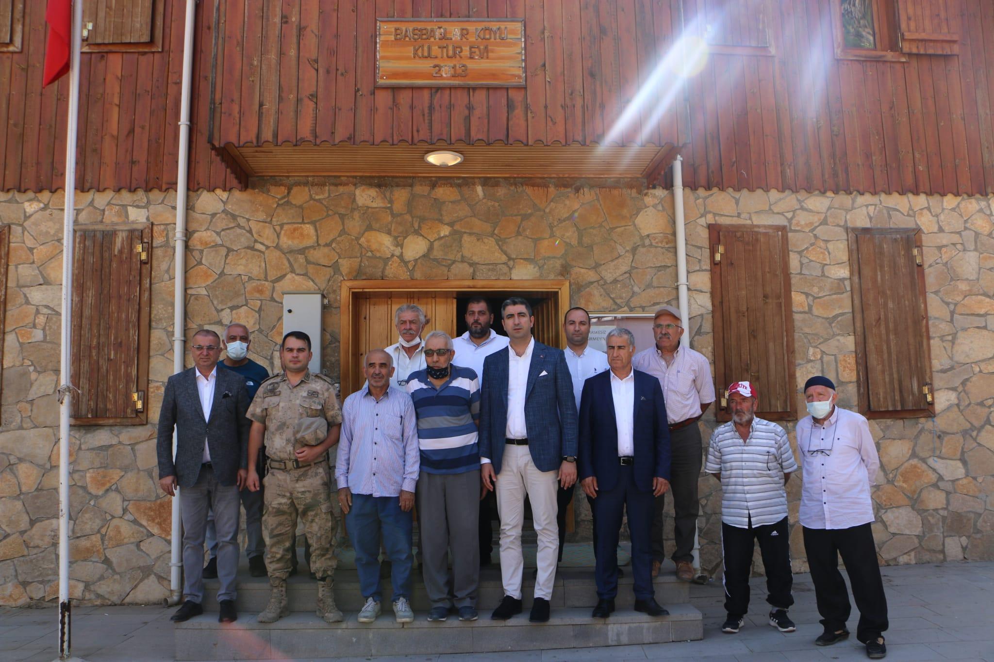 Kartal Belediye Başkanı Yüksel'den Başbağlar Katliamı Şehitliğini Ziyaret