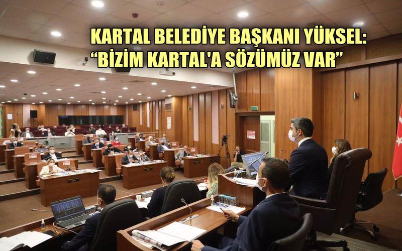 """Kartal Belediyesi Başkanı Gökhan Yüksel: """"Bizim Kartal'a Sözümüz Var"""""""