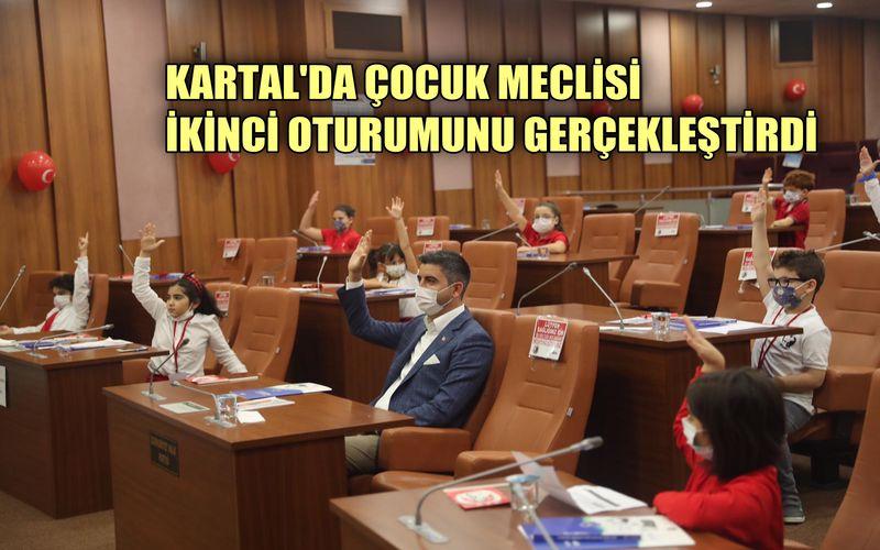 Kartal Belediyesi Çocuk Meclisi'nin ikinci oturumu gerçekleştirildi