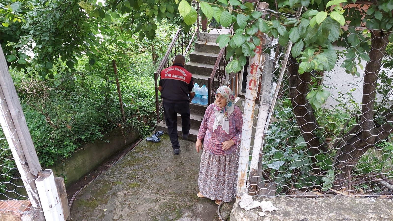 Kartal Belediyesi'nden Bozkurt'a yardım eli