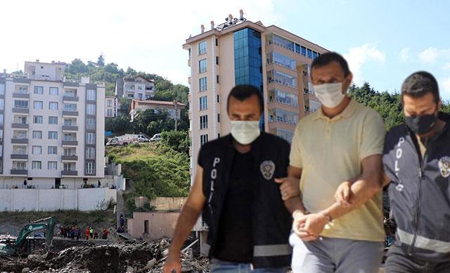Kastamonu'da selde çöken Ölçer Apartmanı'nın müteahhidi tutuklandı