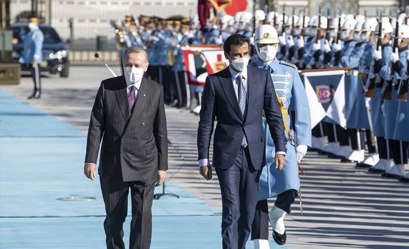 Katar Emiri El Sani, Türkiye'de