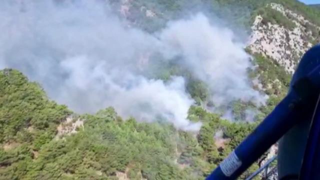 Kazdağları'ndaki yangın kontrol altına alındı