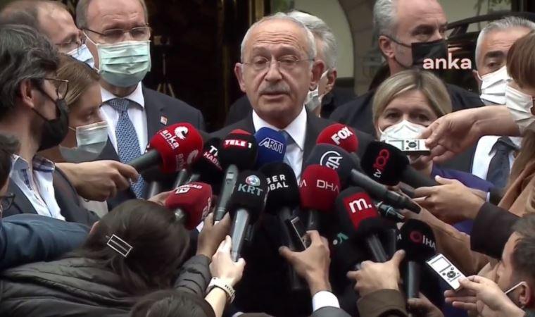 Kemal Kılıçdaroğlu'ndan Merkez Bankası önünde açıklama