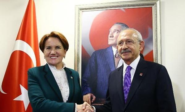 Kılıçdaroğlu, Akşener'i tebrik etti