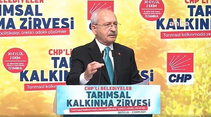 Kılıçdaroğlu: Çiftçilerin kredilerinin faizlerini ilk bir haftada sileceğiz