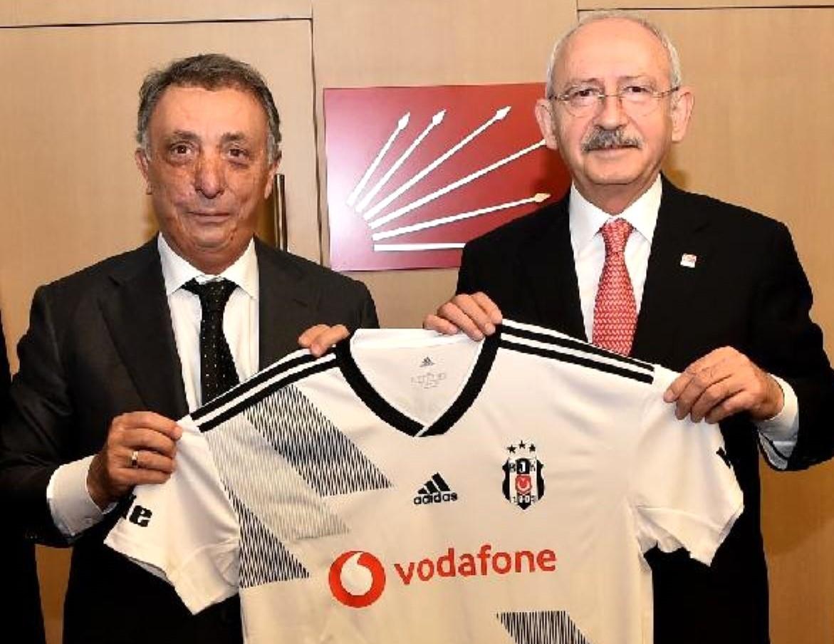 Kılıçdaroğlu da Beşiktaş'a destek kampanyasına katıldı
