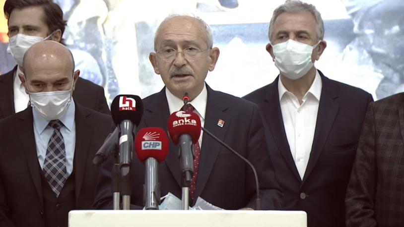 Kılıçdaroğlu deprem bölgesinde: El birliği yapmamız lazım