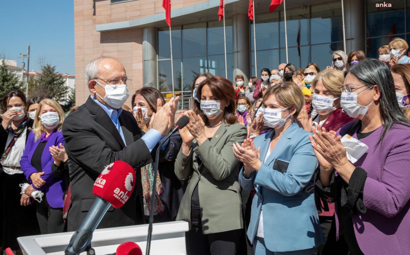 Kılıçdaroğlu: Kadınlar Cumhuriyet tarihimizin en önemli eylemini gerçekleştiriyor