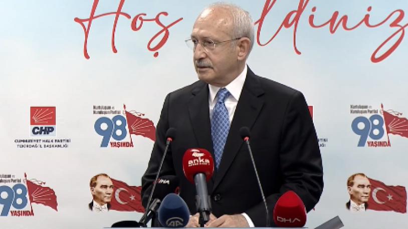 Kılıçdaroğlu'ndan HDP'ye kapatma davası hakkında ilk yorum