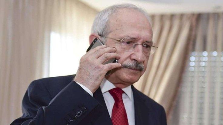 Kılıçdaroğlu'ndan tahliye olan gazetecilere telefon