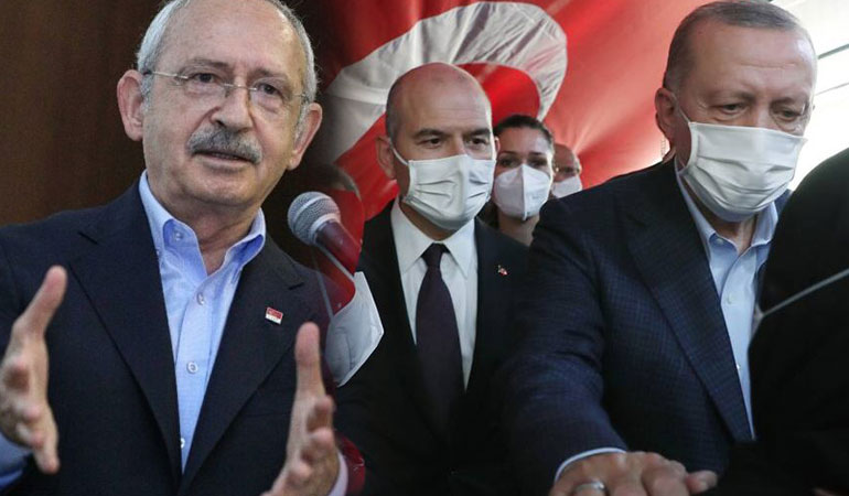 Kılıçdaroğlu: Soylu, Erdoğan'ı teslim almış durumda, edindiği bütün bilgileri Bahçeli ile paylaşır