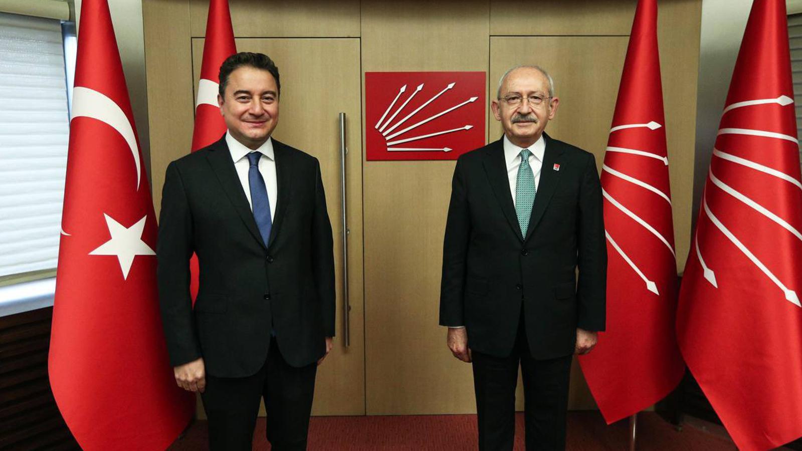 Kılıçdaroğlu ve Babacan'dan ortak açıklama: Güçlendirilmiş parlamenter sistem için diyalog ve istişare süreci başlatıyoruz