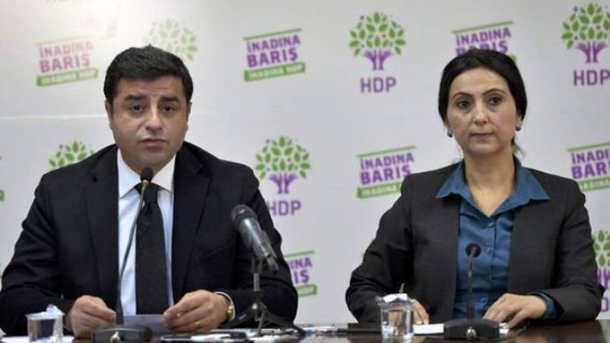 Kobani iddianamesi kabul edildi: Demirtaş ve Yüksekdağ yargılanacak
