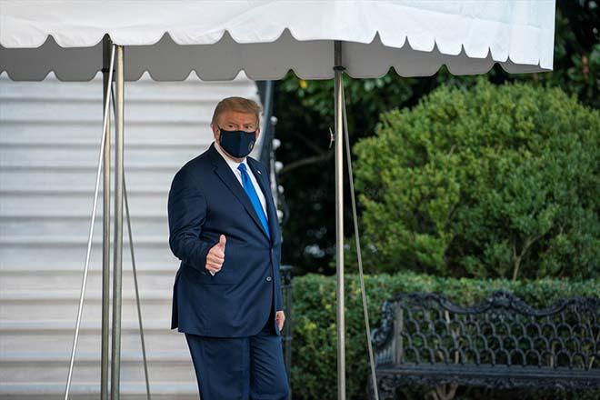 Koronavirüs tedavisi gören Trump taburcu edildi