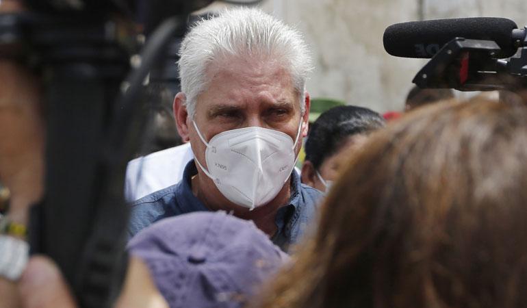 Küba Devlet Başkanı Miguel Diaz-Canel: Tüm devrimcileri sokaklara çağırıyoruz
