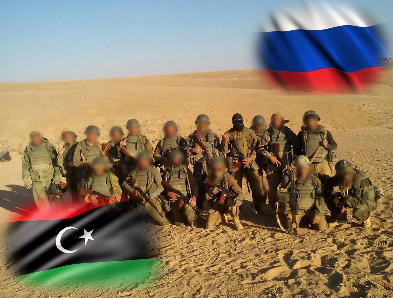 Libya'da Rus güçleri vuruldu!