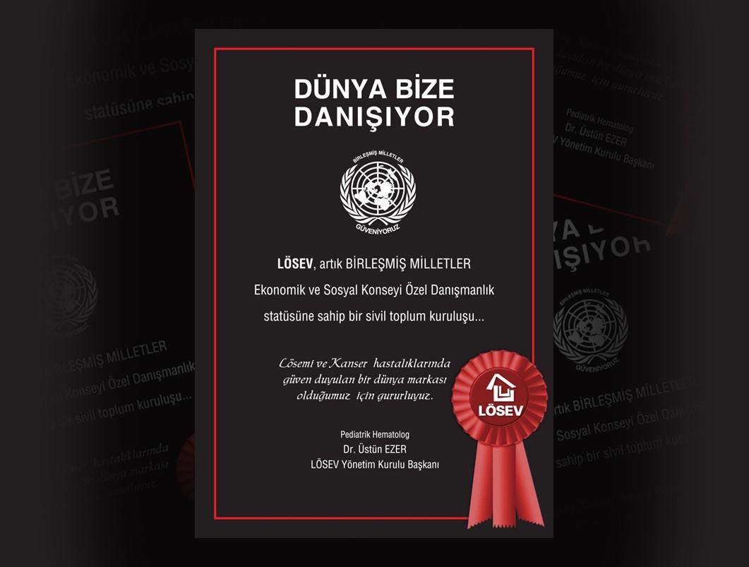 LÖSEV'den Birleşmiş Milletler'e çağrı