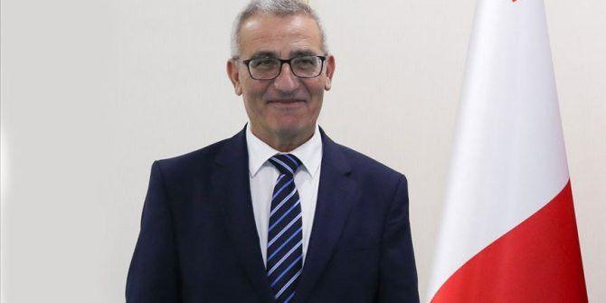 Malta Dışişleri Bakanı Bartolo, Çavuşoğlu ile ortak basın toplantısı düzenledi
