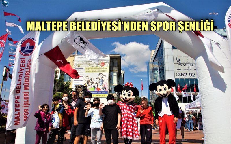 Maltepe Belediyesi'nen spor şenliği