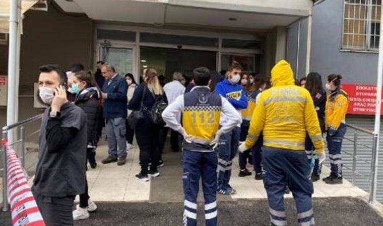 Maltepe'de özel hastanede yangın