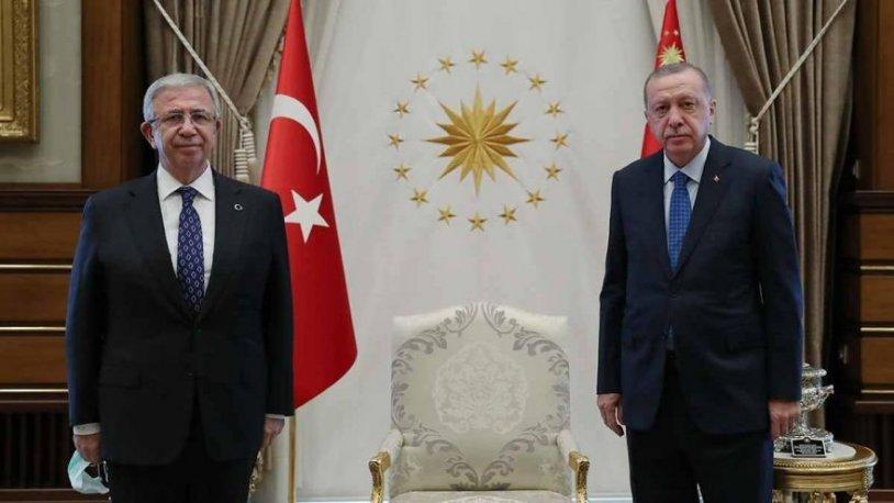 Mansur Yavaş ile görüşen Erdoğan: 'Burada bir hata yapılmış, düzeltilsin'
