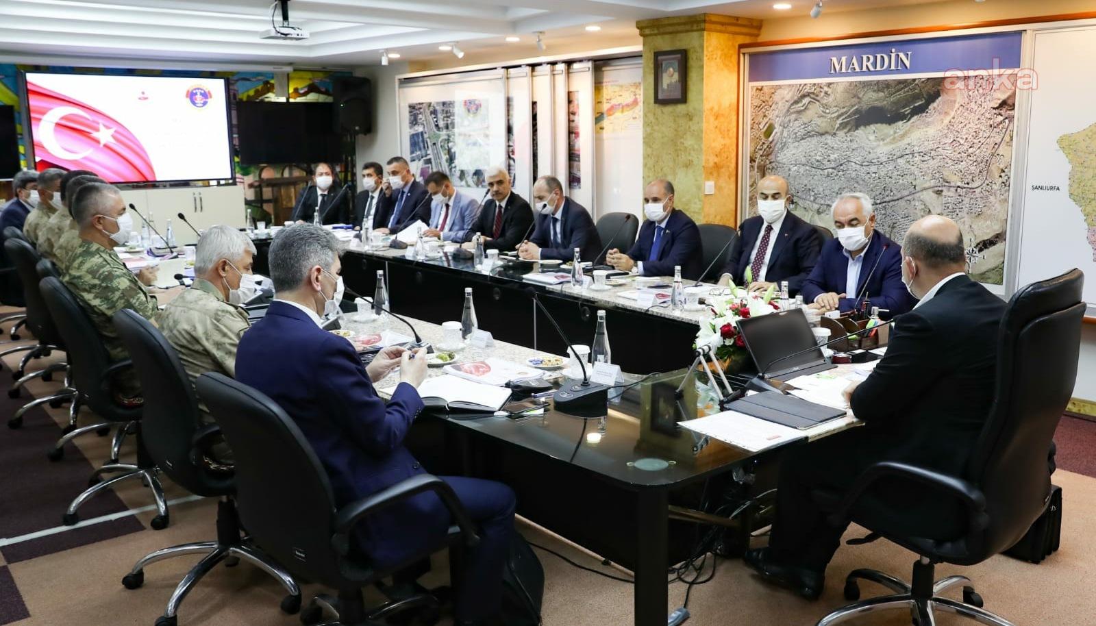 Mardin'de güvenlik toplantısı yapıldı