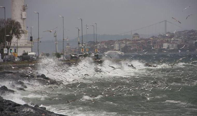 Marmara için lodos uyarısı!